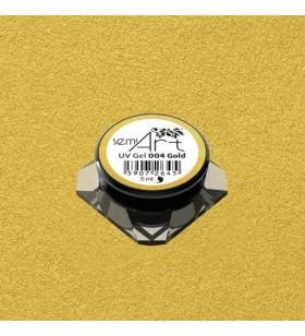 Гелова боя Semilac 004 Gold