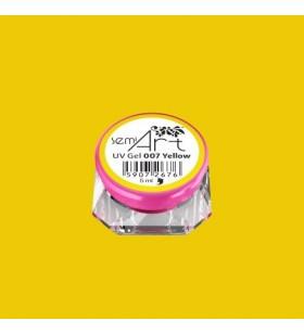 Гелова боя Semilac 007 Yellow