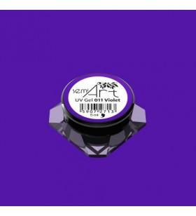 Гелова боя Semilac 011 Violet