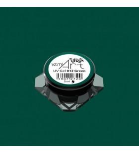 Гелова боя Semilac 012 Green