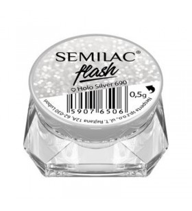 Пигмент Semilac Holo Silver...